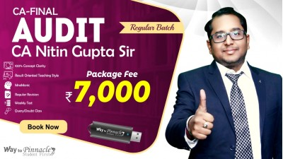 CA Final Audit Pendrive Classes by CA Nitin Gupta Sir For May 21 & Onwards - Full HD Video Lecture + HQ Sound