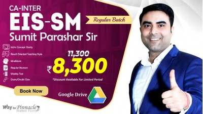 CA Inter EIS SM Google Drive Classes by Sumit Parashar Sir For May 21 & Onwards  | Complete EIS SM Course | Full HD Video + HQ Sound