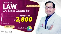 CA Inter (Group-1) Corporate and Other Laws Google Drive Classes by CA Nitin Gupta Sir For May 21 & Onwards - Full HD Video Lecture + HQ Sound