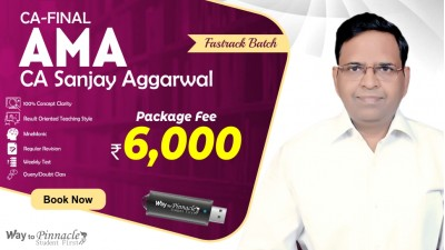 CA Final AMA Fastrack Pendrive Classes by CA Sanjay Aggarwal Sir For May 21 & Onwards - Full HD Video Lecture + HQ Sound