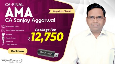CA Final AMA Pendrive Classes by CA Sanjay Aggarwal Sir For May 21 & Onwards - Full HD Video Lecture + HQ Sound