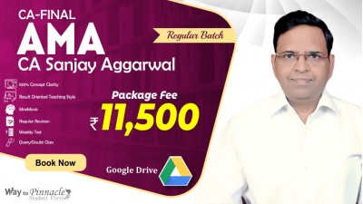 CA Final AMA Google Drive Classes by CA Sanjay Aggarwal Sir For May 21 & Onwards - Full HD Video Lecture + HQ Sound