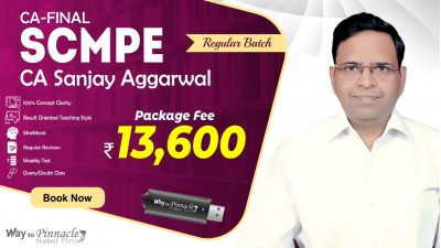 CA Final SCMPE Pendrive Classes by CA Sanjay Aggarwal Sir For May 21 & Onwards - Full HD Video Lecture + HQ Sound