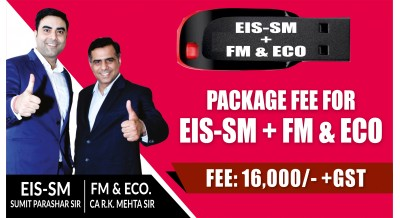 EIS-SM + FM & ECO PENDRIVE CLASSES COMBO | MAY-19 ATTEMPT | FULL SYLLABUS