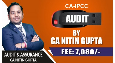 CA IPCC Audit Pendrive Classes by CA Nitin Gupta Sir (OLD Course) - Complete Auditing & Assurance Classes Full HD Video Lecture + HQ Sound