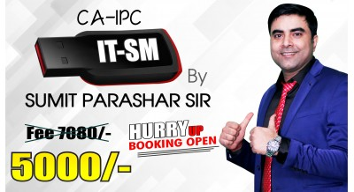 IPCC IT SM Pendrive Classes (Old course) by Sumit Parashar Sir | Updated for Nov 19 & Onwards