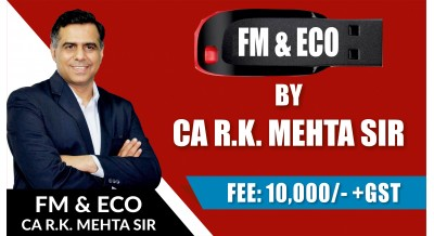FM & ECO FOR FINANCE | FULL COURSE FM-ECO |MAY 19 ATTEMPT |Pen Drive CLASSES