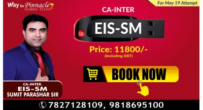EIS SM Pendrive Classes by Sumit Parashar Sir For May-19 Attempt | Complete EIS SM Course | Full HD Video + HQ Sound