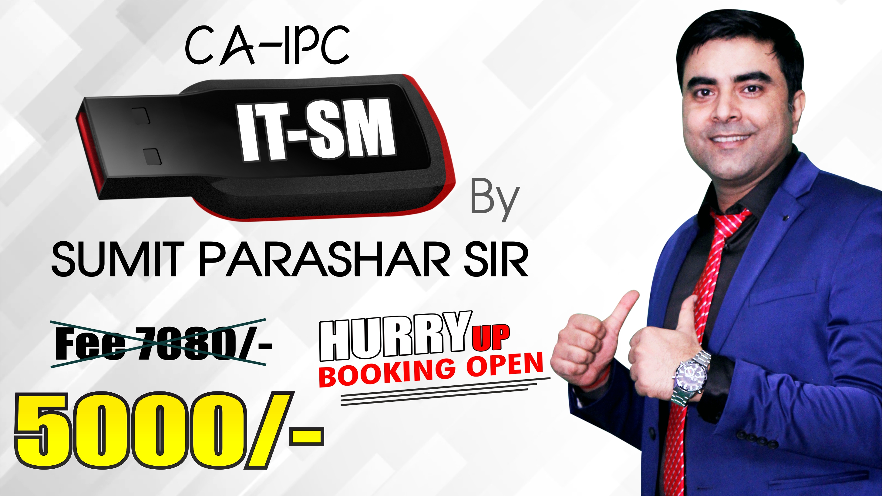 IPCC IT SM Pendrive Classes (Old course) by Sumit Parashar Sir | Updated for May 20